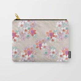 Rumpled Blossoms Carry-All Pouch