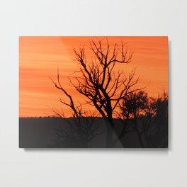 Sunrise in Grampians Metal Print