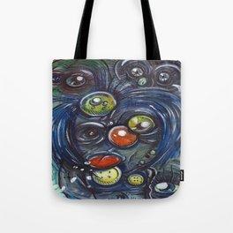 Grimace Tote Bag