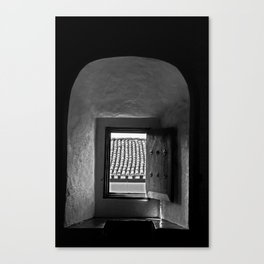 Vaulted Window Canvas Print