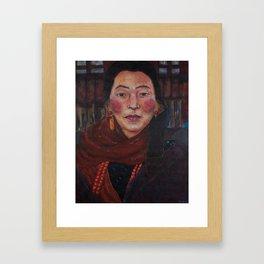 Nepalese Woman Framed Art Print