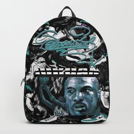 JUICEEXPRESSIONS-JORDAN HEAD 3 Backpack