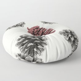 Pine cones Floor Pillow