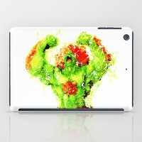 street fighter iPad Cases featuring Street Fighter II - Blanka by Carlo Spaziani