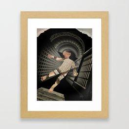 Kafka's Amerika Framed Art Print