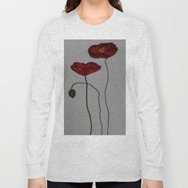 Poppies Long Sleeve T-shirt