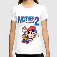earthbound T-shirts featuring Mother 2 / Earthbound / Super Mario Bros. 3 Style by Studio Momo╰༼ ಠ益ಠ ༽
