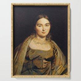 Jean-Auguste-Dominique Ingres - Madame Ingres, nee Madeleine Chapelle Serving Tray