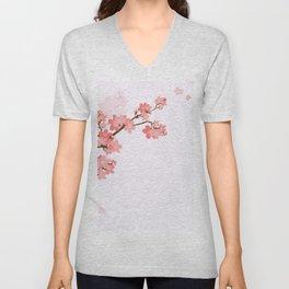 Blooming cherry tree Unisex V-Neck
