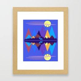 Mountain Scene #2 Framed Art Print