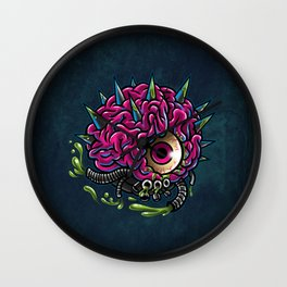 Motherbrain Wall Clock