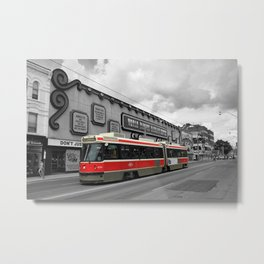 Red Rocket 4b Metal Print