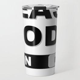 Slide to Unlock Beast Mode Travel Mug