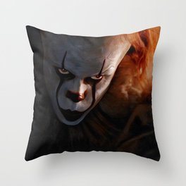 Pennywise The Dancing Clown - IT Throw Pillow