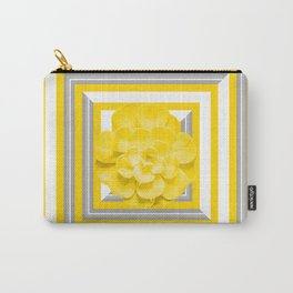 Succulent Plant Yellow Color With Frame #decor #society6 #buyart Carry-All Pouch