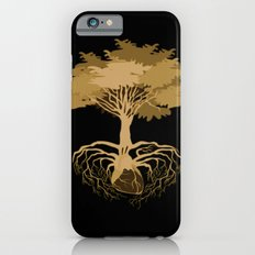 Heart Tree - Orange iPhone 6s Slim Case