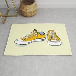 Yellow Sneakers Rug