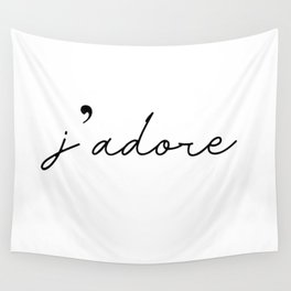 j'adore Wall Tapestry