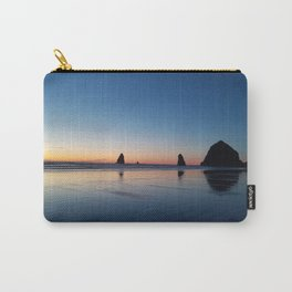 Haystack Rock Late Sunset Carry-All Pouch