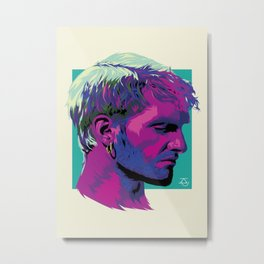 Layne Staley Metal Print