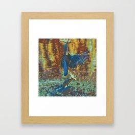 Kingfishin' (pt.1) II Framed Art Print