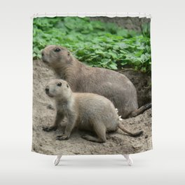 Prairie dogs 04 Shower Curtain