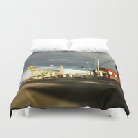 broadway Duvet Covers featuring Broadway In The Now... by PHTP Studio