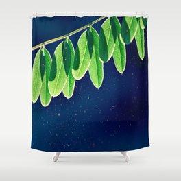 Leaflets II Shower Curtain