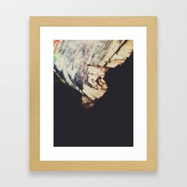 Light & Shadows || Old & Broken Framed Art Print
