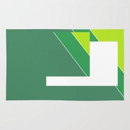 Greens Pattern Rug