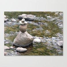 Zen Rocks Canvas Print