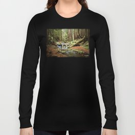 Crystal Stream Long Sleeve T-shirt