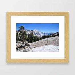 Olmsted Point, Tioga Pass, Yosemite National Park  Framed Art Print