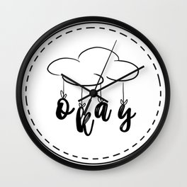 The Fault in our Stars: Okay! Wall Clock