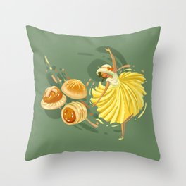 Pineapple Tart Throw Pillow