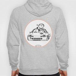 Crazy Car Art 0202 Hoody