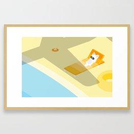 Golden Week Framed Art Print