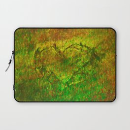 The Heart - Painting by Brian Vegas Laptop Sleeve