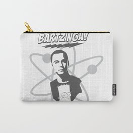 sheldon cooper and bart simpson: big bang theory art 2 Carry-All Pouch