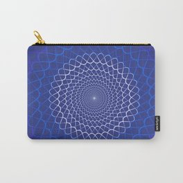Wave mandala Carry-All Pouch