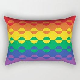 Colorfulness Rectangular Pillow