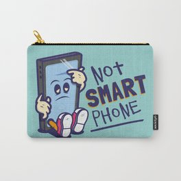 Not Smart Phone. Carry-All Pouch