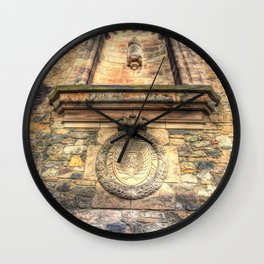 Edinburgh Castle Royal Airforce Wall Clock