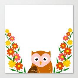 Cute Owl Canvas Print
