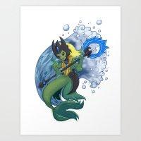 Nami the TideCaller Art Print