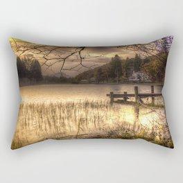 Golden Loch Ard Rectangular Pillow