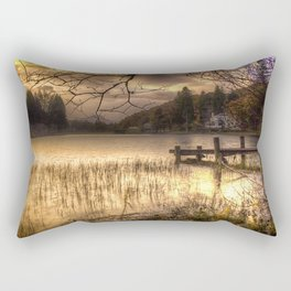 Golden Loch Ard Rectangular Pillow