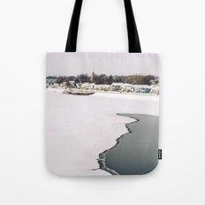 Frozen Ottawa River Tote Bag