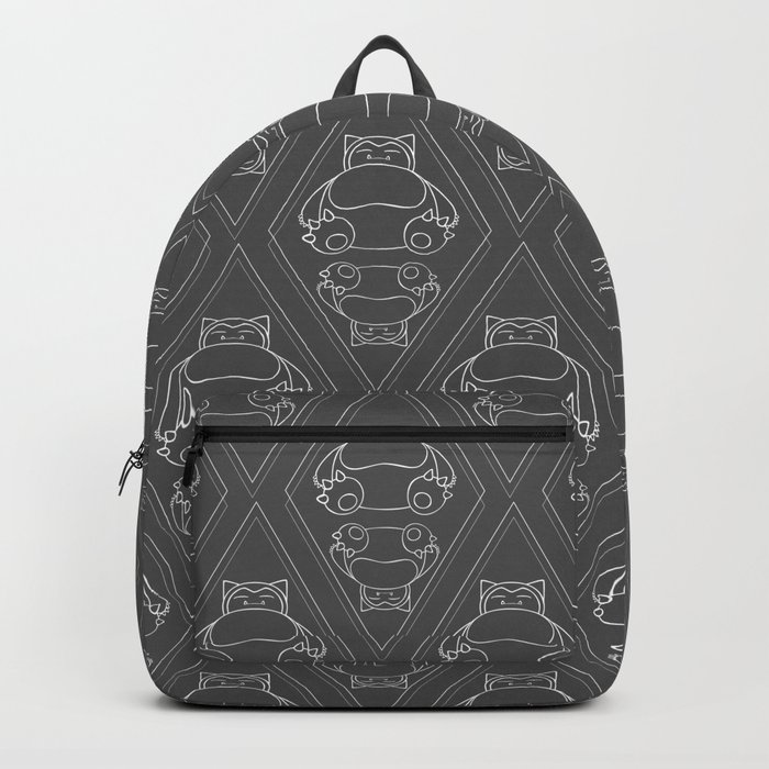 Snorlax Pattern Backpack