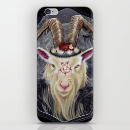 Goats Go To Hell iPhone Skin